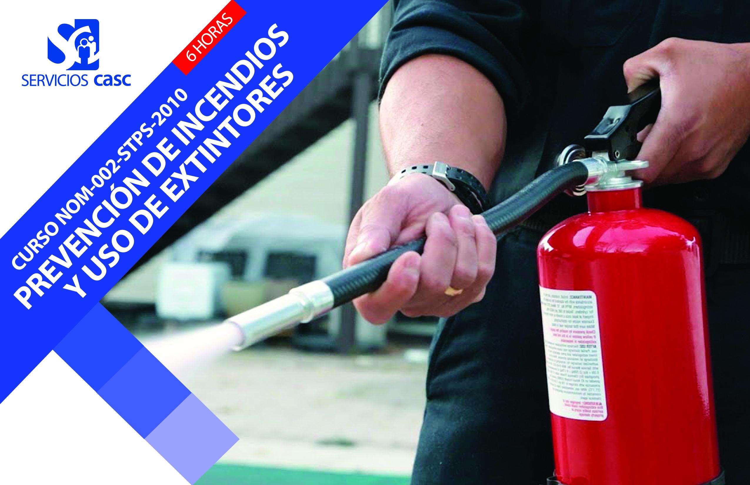 Curso Prevención de Incendios