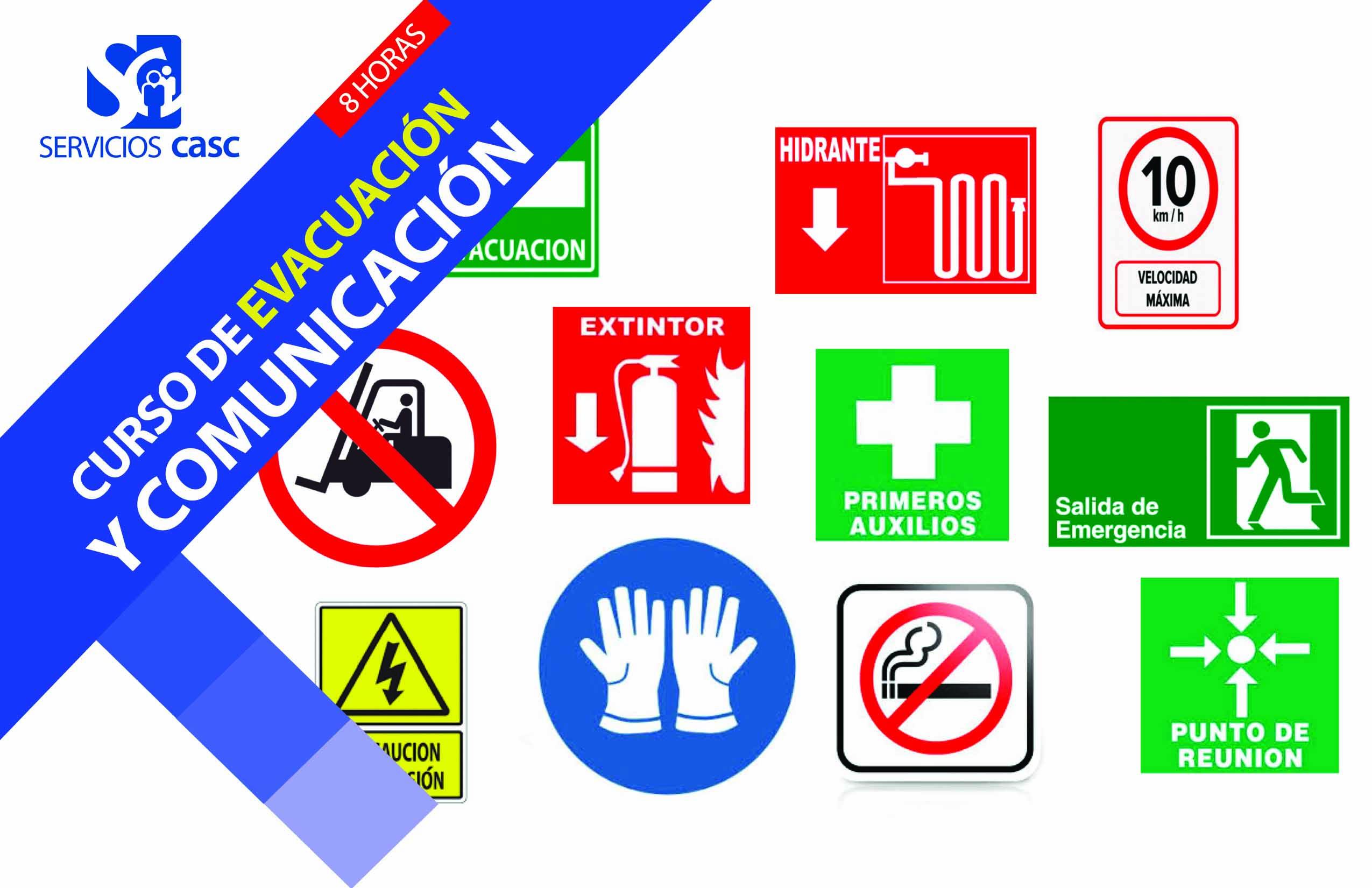 Brigadas de Protección Civil, Evacuación y Comunicación