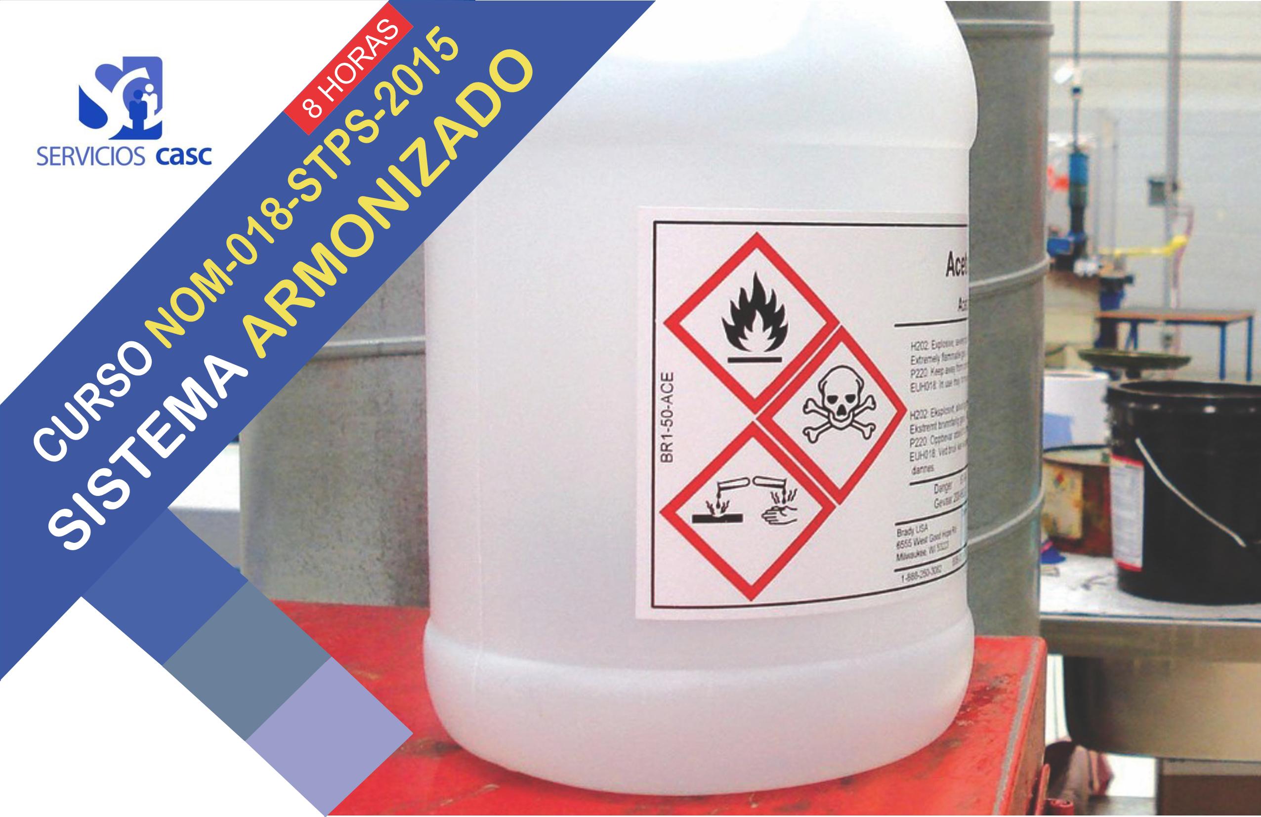 Identificación de Productos Químicos (NOM-018-STPS-2015)